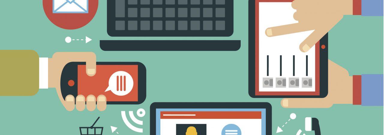 Content-Marketing und Suchmaschinenoptimierung, die mobile Benutzer unterstützen